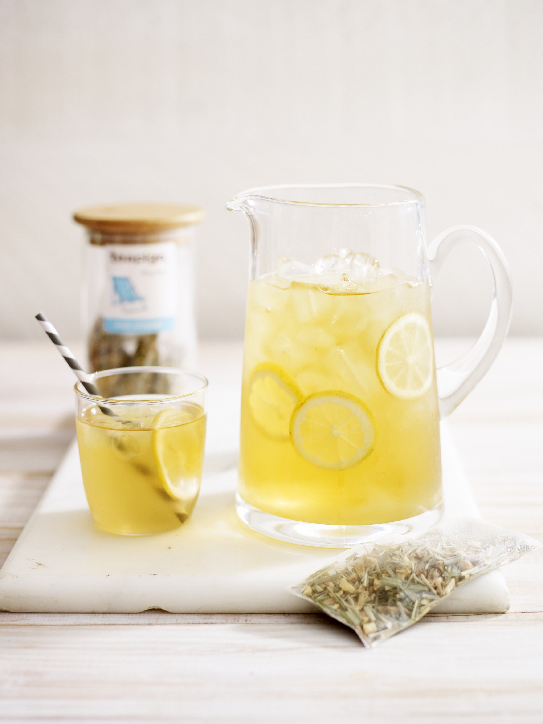 TeaPigs Lemon & Ginger Iced Tea