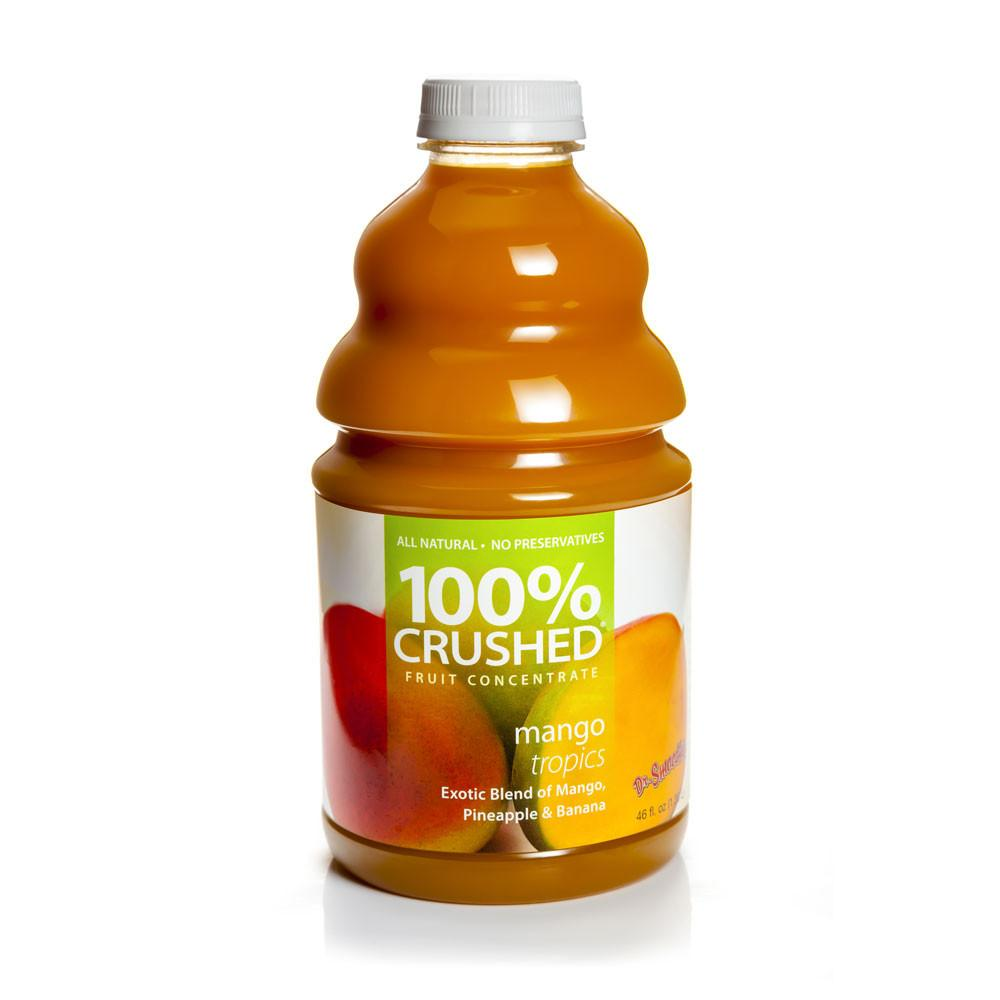 Dr. Smoothie Mango Tropics 100% Crushed Fruit Smoothie Concentrate