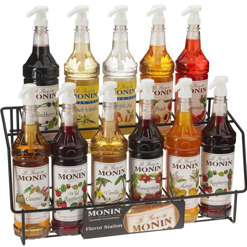 Mixed Case of Monin Syrups