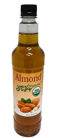 Joe's USDA Organic Almond Syrup
