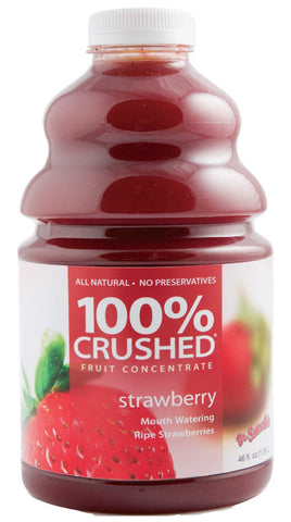 Dr. Smoothie Strawberry 100% Crushed Fruit Smoothie Concentrate