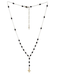 peaceful cross necklace