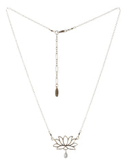 perfect lotus necklace