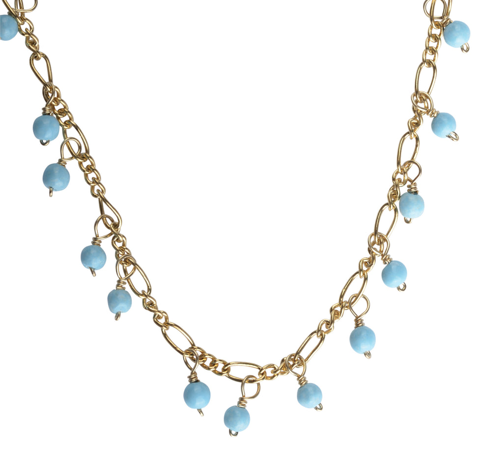 bits of blue necklace