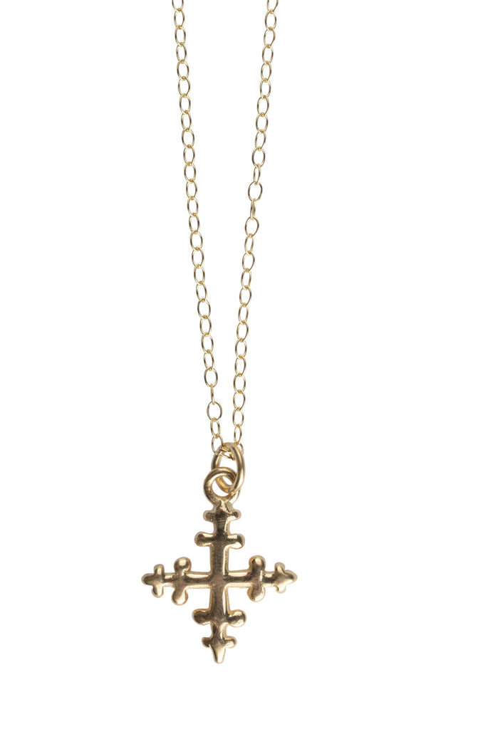 peace and love cross necklace
