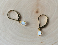 Diamond Water earrings