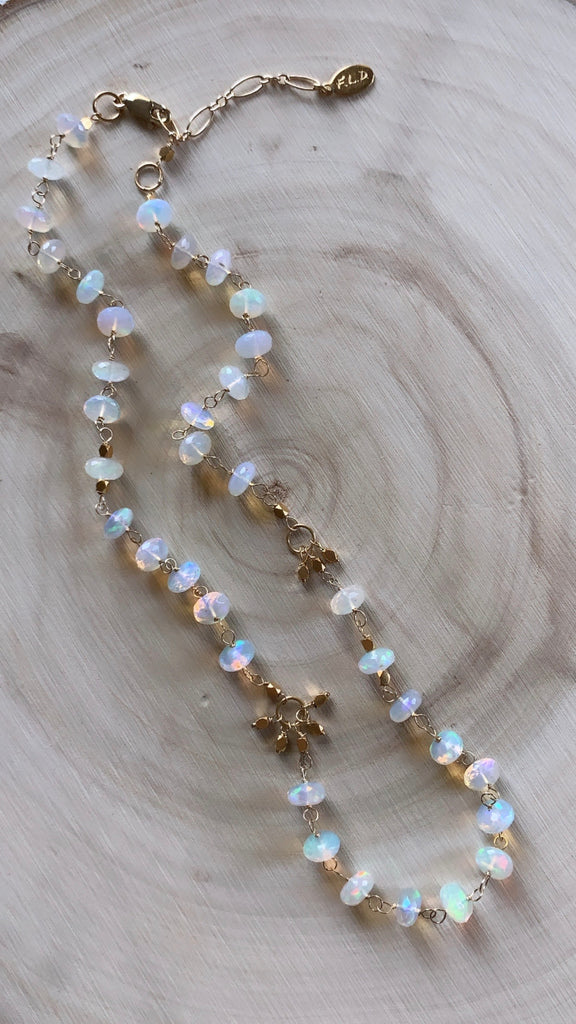 Rocky Mountain Opal Necklace