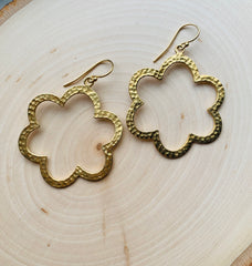 Flower Power Hoops