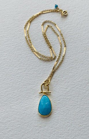 Turquoise Swing Necklace