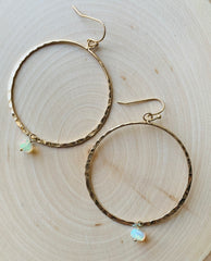 Natural Mystic Hoops