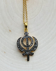 Adi Shakti Infinity Necklace