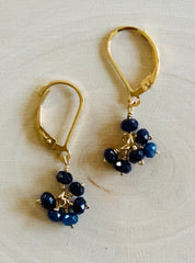 Luna Cluster Earrings