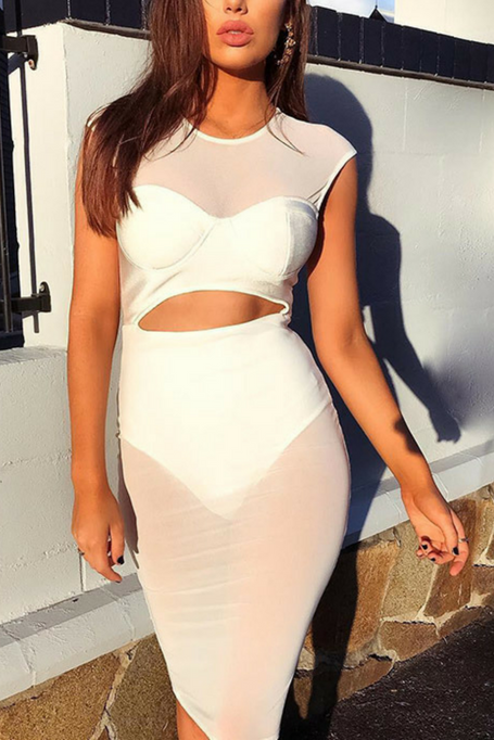 Love Secrets - Deep Plunge Lace Bandage Dress.  134.73 · Stand Out - Bandage  Dress - White 1e9ada0e9