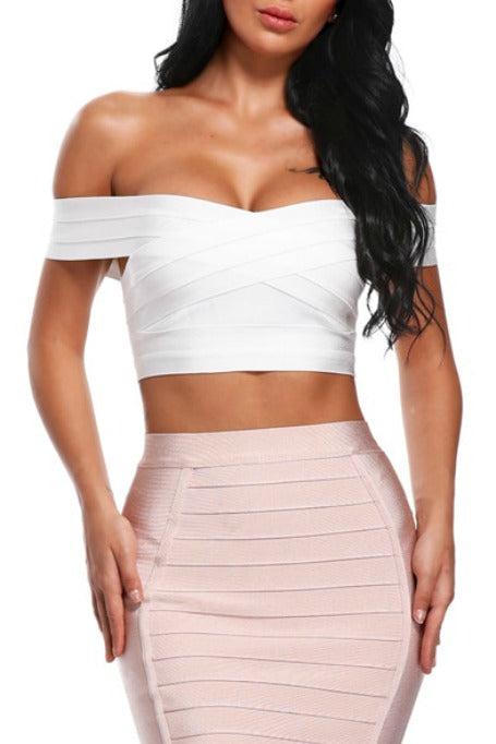 Class - Bandage Top - White