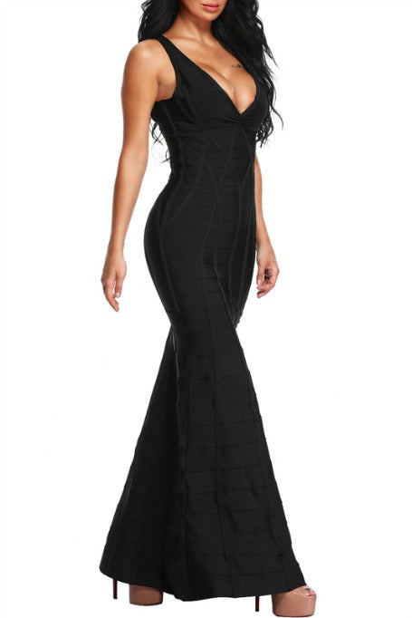 All Eyes On Me - Maxi Bandage Dress