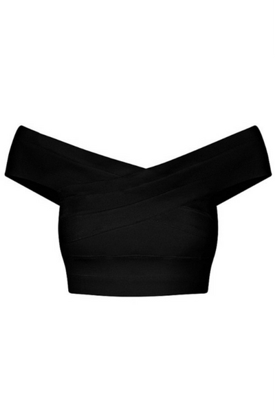Class - Bandage Top - Black