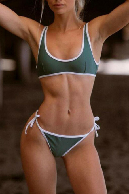 Good Vibes - Bikini - Green