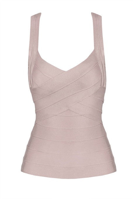 Essential - Bandage Top - Nude