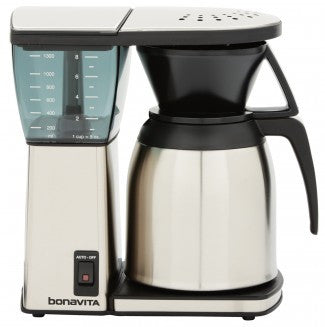 Bonavita 8 Cup Brewer with Stainless Steel Lined Thermal Carafe