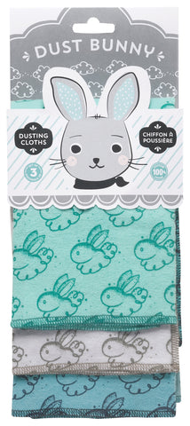 Set of 3 Dust Bunny Cloths
