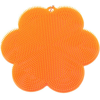 Stay Clean Silicone Flower Scrubber