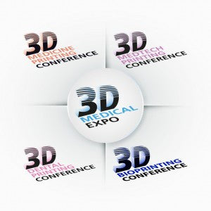 3D4Makers at 3D Medical Expo, 31 January - 1 February