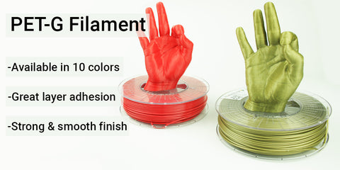 PET-G Filament Collection