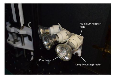 NASA High Temperature Bulbs for IR heating