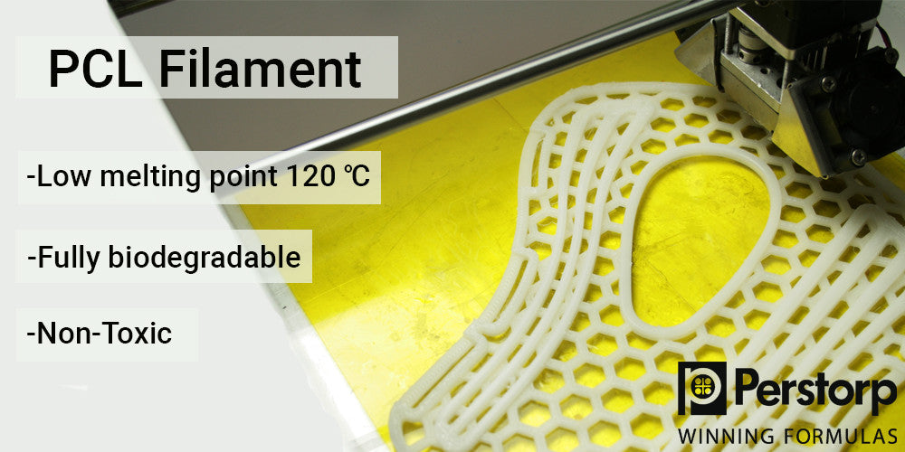 PCL 99 FILAMENT - Low Melting Point - Biiodegradable