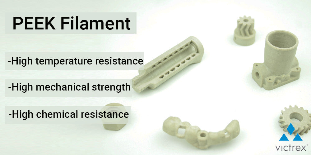 PEEK FILAMENT - High Temperature Resistance - Mechanical Strength - Chemical Resistance