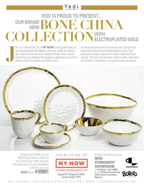 Our New Bone China Collection