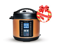 Yedi Copper Pressure Cooker with Oprahs Favorite Things of 2019 logo