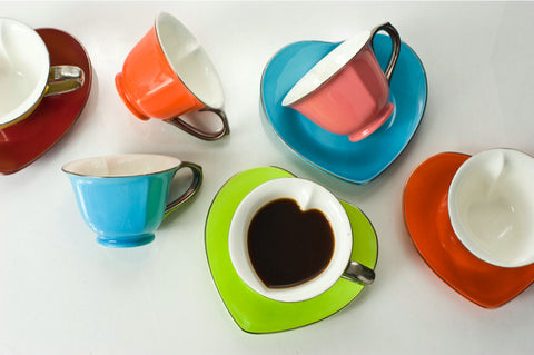 6.5 oz Cup and Saucer (set of 6)