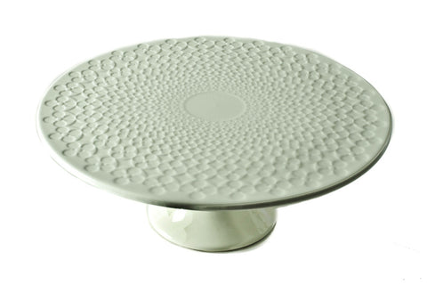 FOOTED CAKE PLATTER 28CM