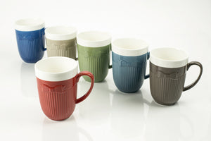 ASSORTED MUGS 10OZ. (Set of 6)