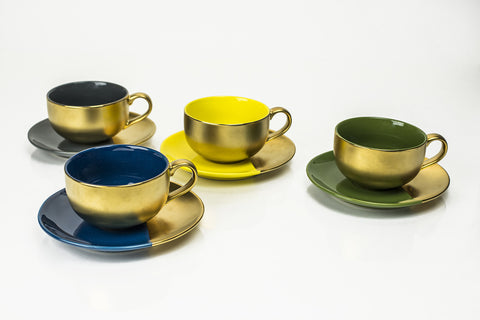 SET OF 4 TEA SETS