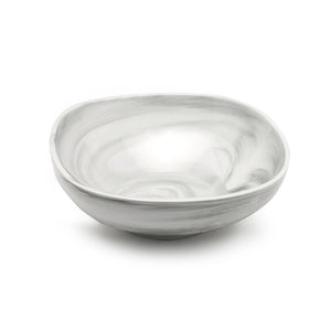 "12.2"" SQUARE BOWL from the marble collection"