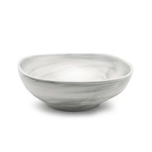 "Load image into Gallery viewer, 12.2"" SQUARE BOWL from the marble collection"