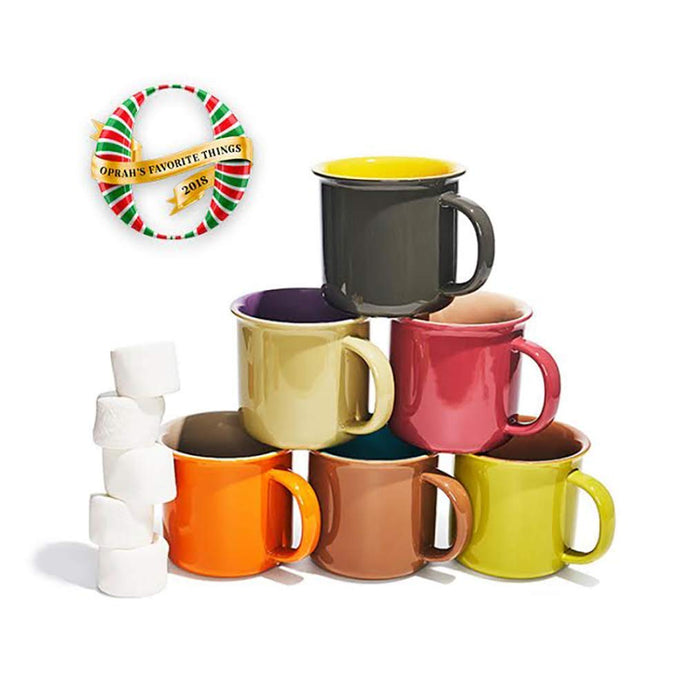 Set of 6 Jumbo 20 oz Mugs
