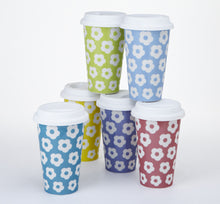 Load image into Gallery viewer, DAISY TRAVEL MUG SET