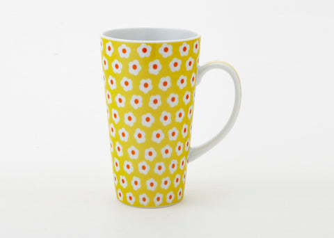 Yellow Daisy Latte Mug