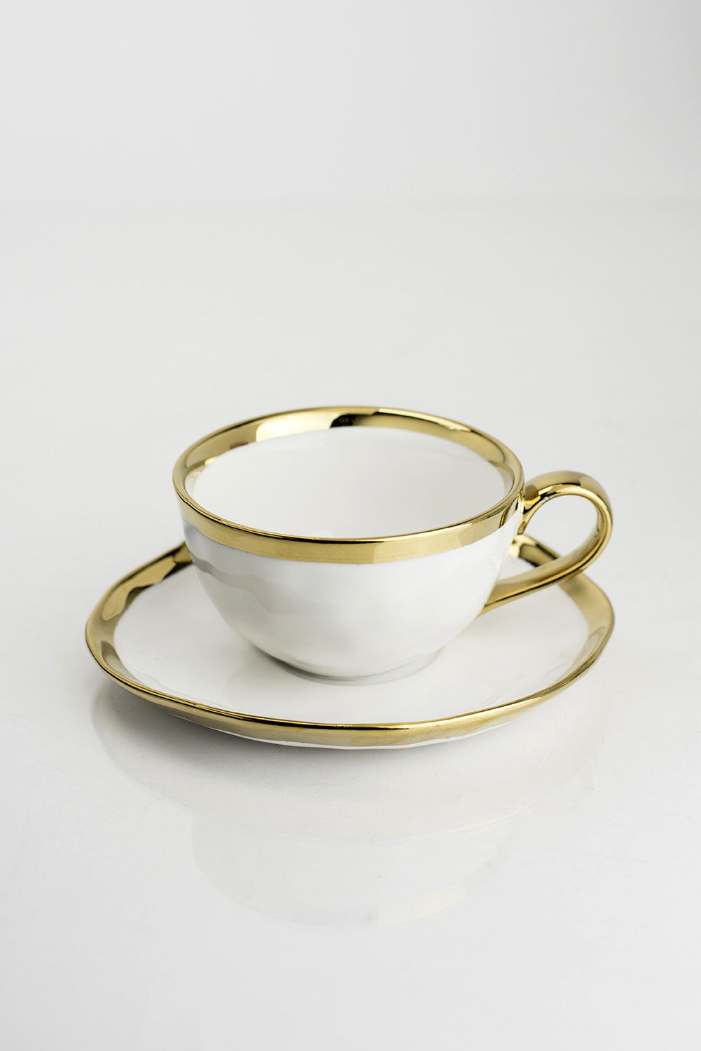 CUP & SAUCER  (SET OF 4) 10OZ