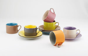 TEA AND COFFEE SET OF 6