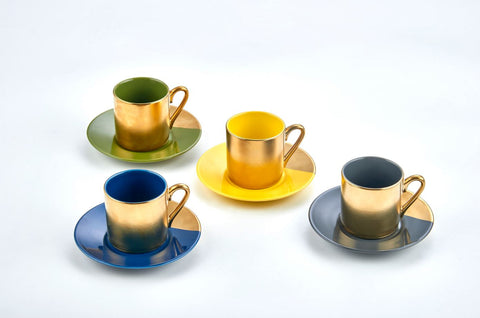 SET OF 4 ESPRESSO SET