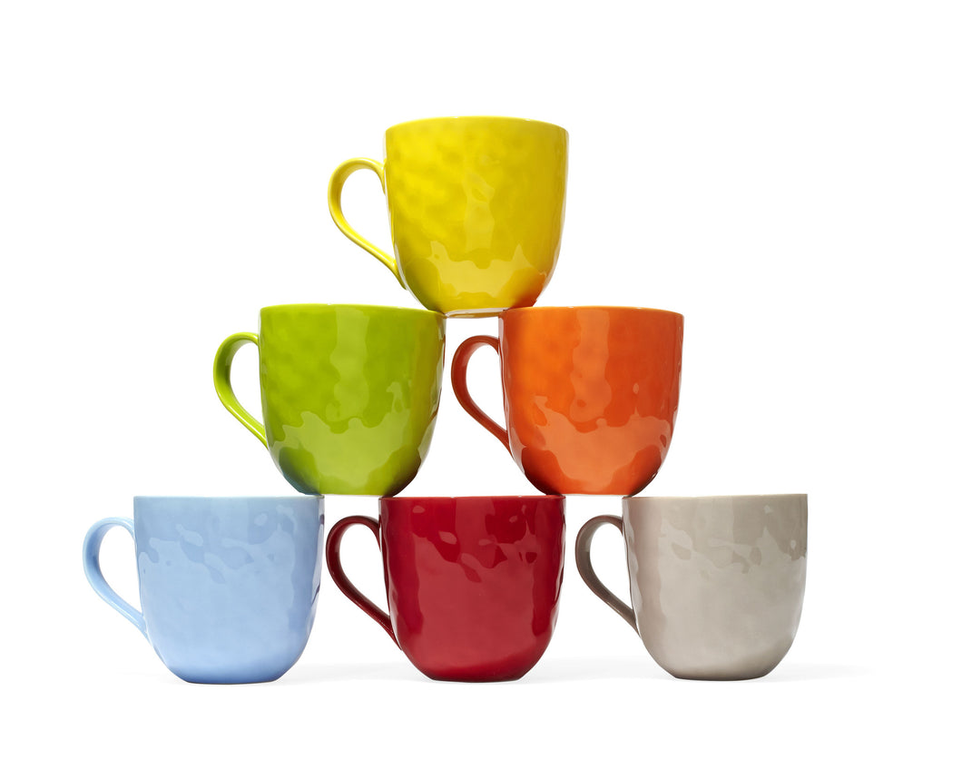 ASSORTED MUGS (SET OF 6) 20OZ