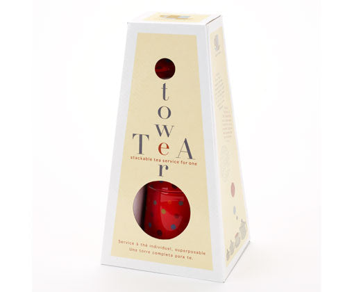 Polka Dot Tea Tower