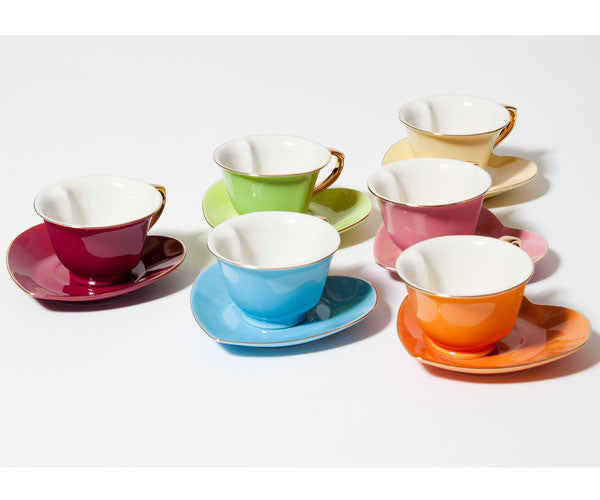 3.0 oz Cup and Saucer (set of 6)