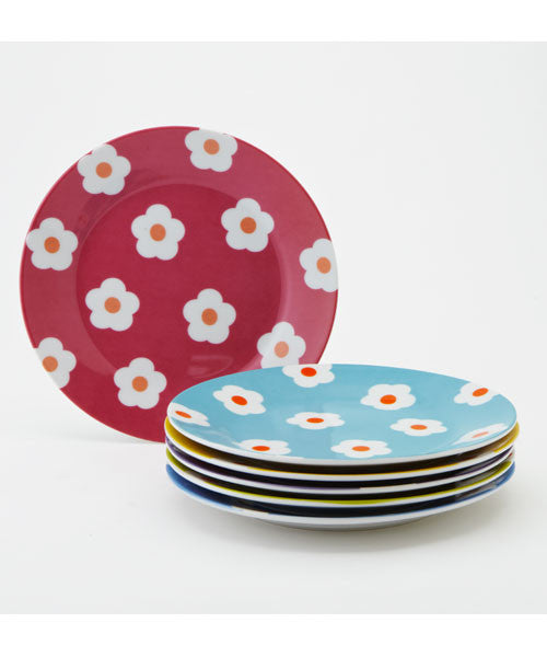 Assorted Daisy Dessert Set