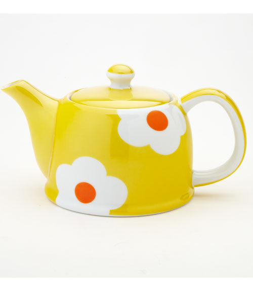 Yellow Daisy Teapot