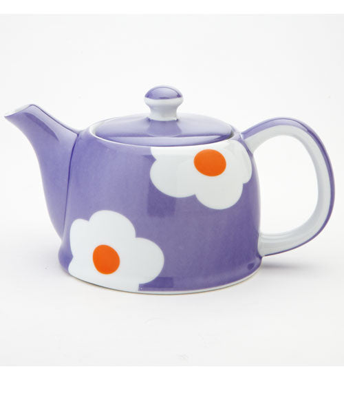 Purple Daisy Teapot